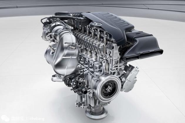 六缸柴油机结构图