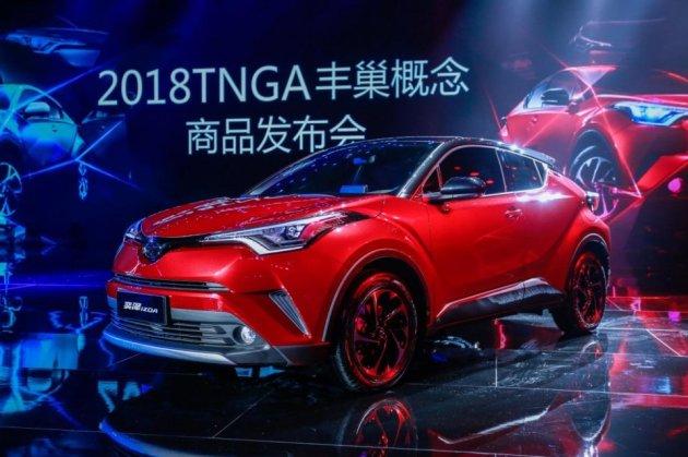 """做为""""TNGA丰巢概念""""开辟的首款SUV车型"""