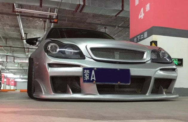 国产车也有高颜值吉利自由舰改装后展示低姿态魅力