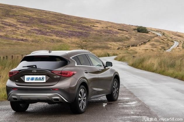 二十万的车开起来有四十万的质感讴歌CDX英菲尼迪QX30