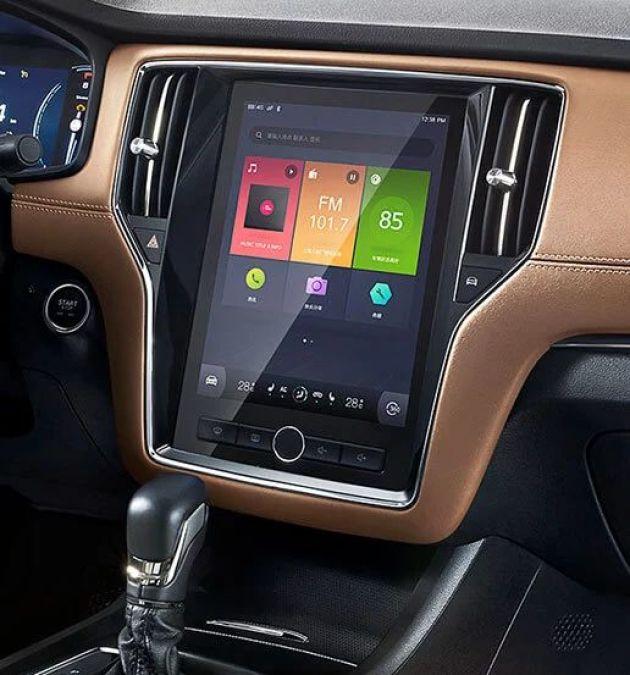 搭载v系统互联时代的家轿,荣威i6作为了系统配件互联网汽车智一代北汽绅宝x25全新图片