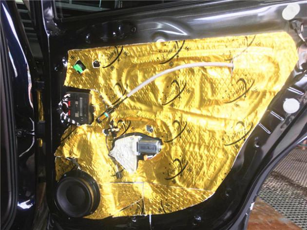 转角遇见爱 大众途观L汽车音响改装丹拿V17专车专用喇叭