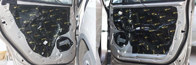 小改动大提升台州吉利远景X3汽车音响改装升级好莱坞案例