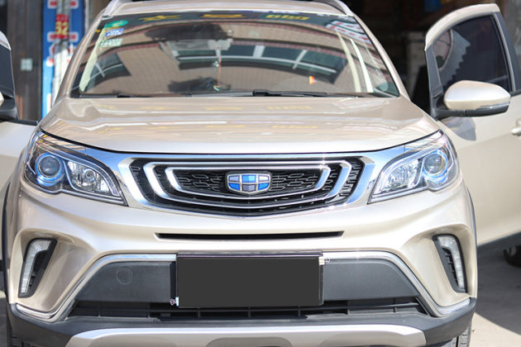 小改动大提升台州吉利远景X3汽车音响改装升级好莱坞案例_北京赛