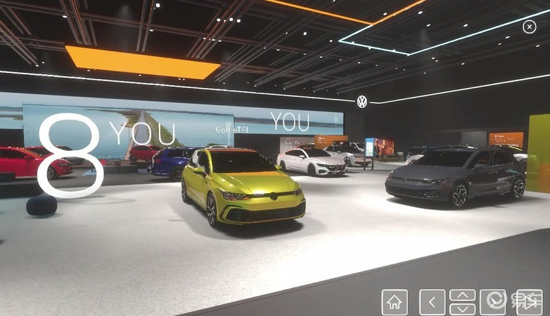 汽车展展厅设计效果图及搭建注意事项 胤斐上海展览有限公司