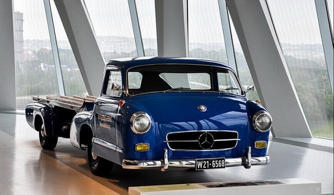 奔驰最可爱的车型 f1运输车