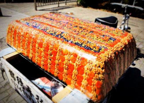 山东一辆载400斤切糕车被撞 将获赔6万余元