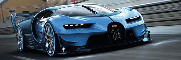 赏布加迪Vision GT概念车