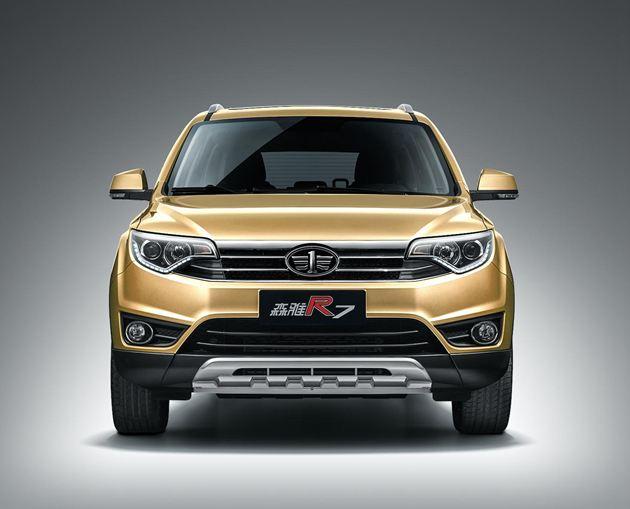 森雅R7 1.5T将亮相上海车展 增E-travel系统