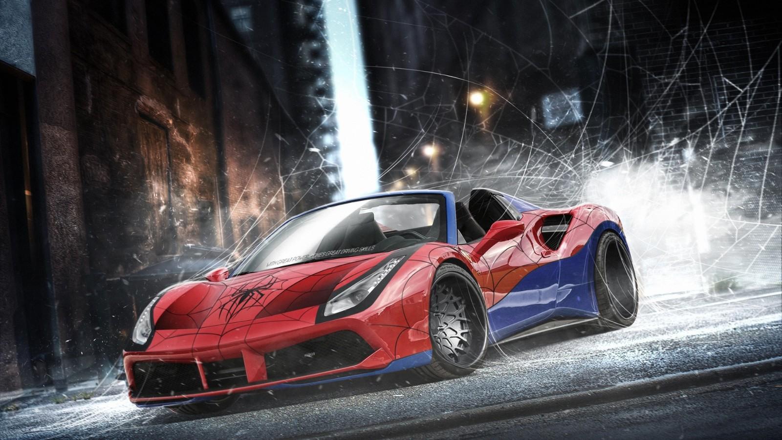 超级英雄开什么超级跑车?