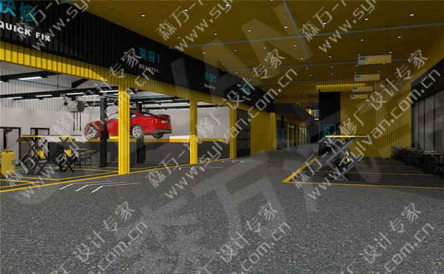 汽修厂规划设计图片