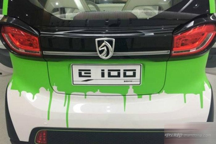 速 电动市场 宝骏E100明年上市高清图片