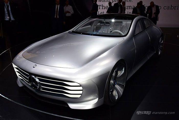 奔驰IAA概念车5月国内首发:油电混合、超低风阻