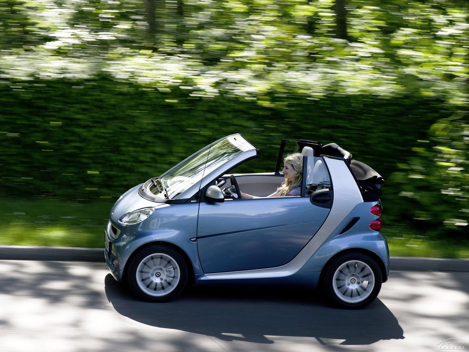 Smart品牌全系车型将推电动版