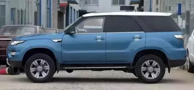 这款车和众泰一样也是仿路虎,却没人买,即将停产