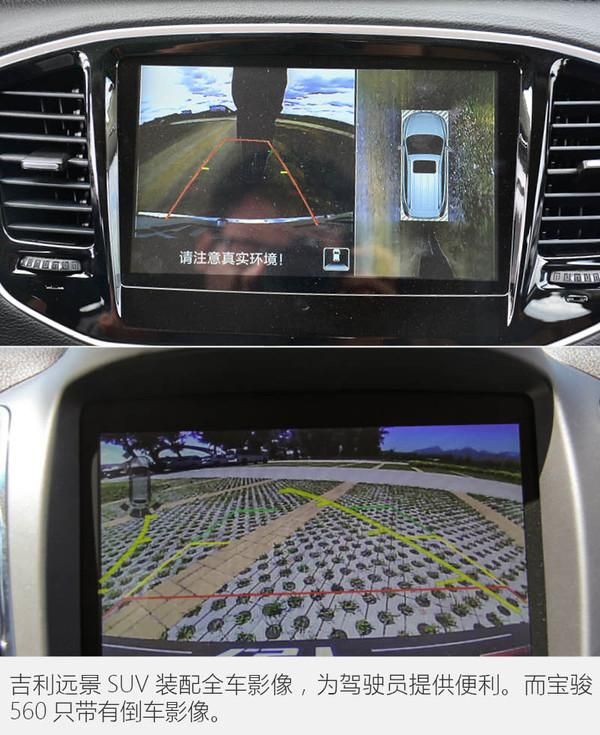 吉利远景SUV单挑宝骏560 只有10万要买谁高清图片