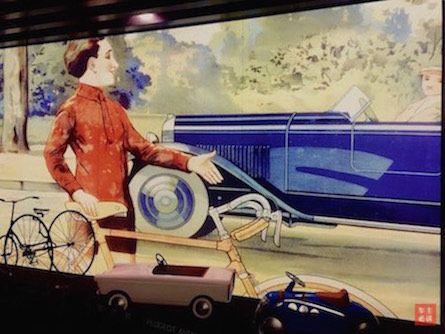 """童车专题,以""""儿童画""""为背景,前置标致的设计产品,总有种错觉"""