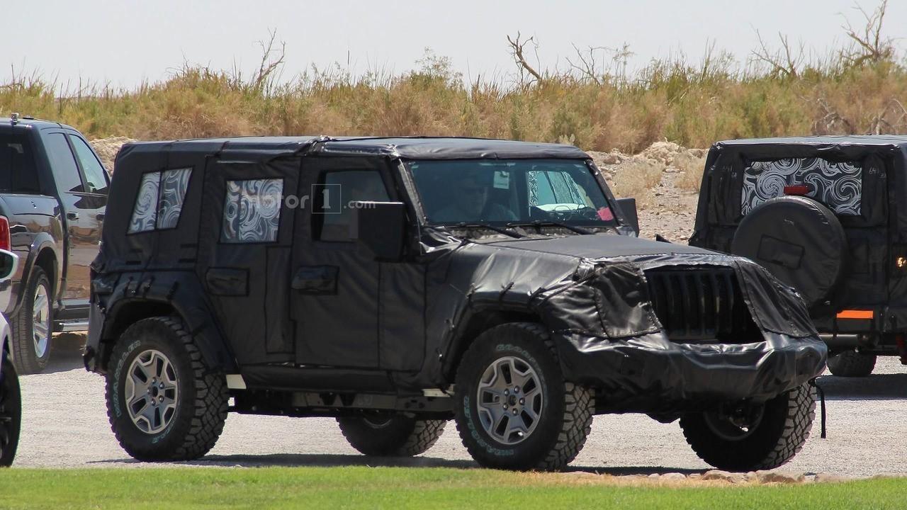 2018 Jeep新牧马人谍照曝光