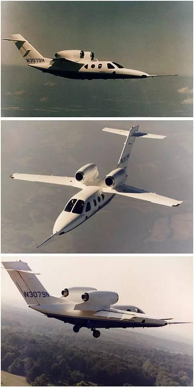 这架名为mh02的小型飞机是世界上首台复合材料公务机