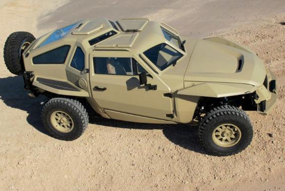 美军用来替代悍马的越野车,如何?
