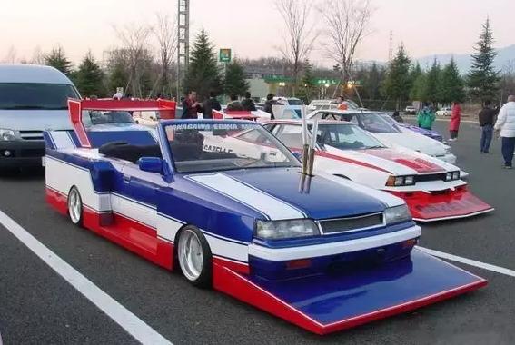 中美日改装车,奇怪风格大比拼飞马星 易起说高清图片