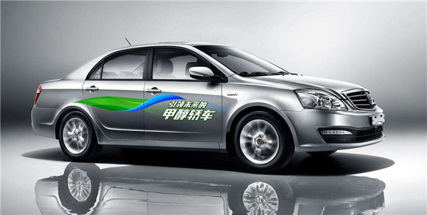 吉利帝豪又出新能源汽车,不烧汽油也不充电高清图片