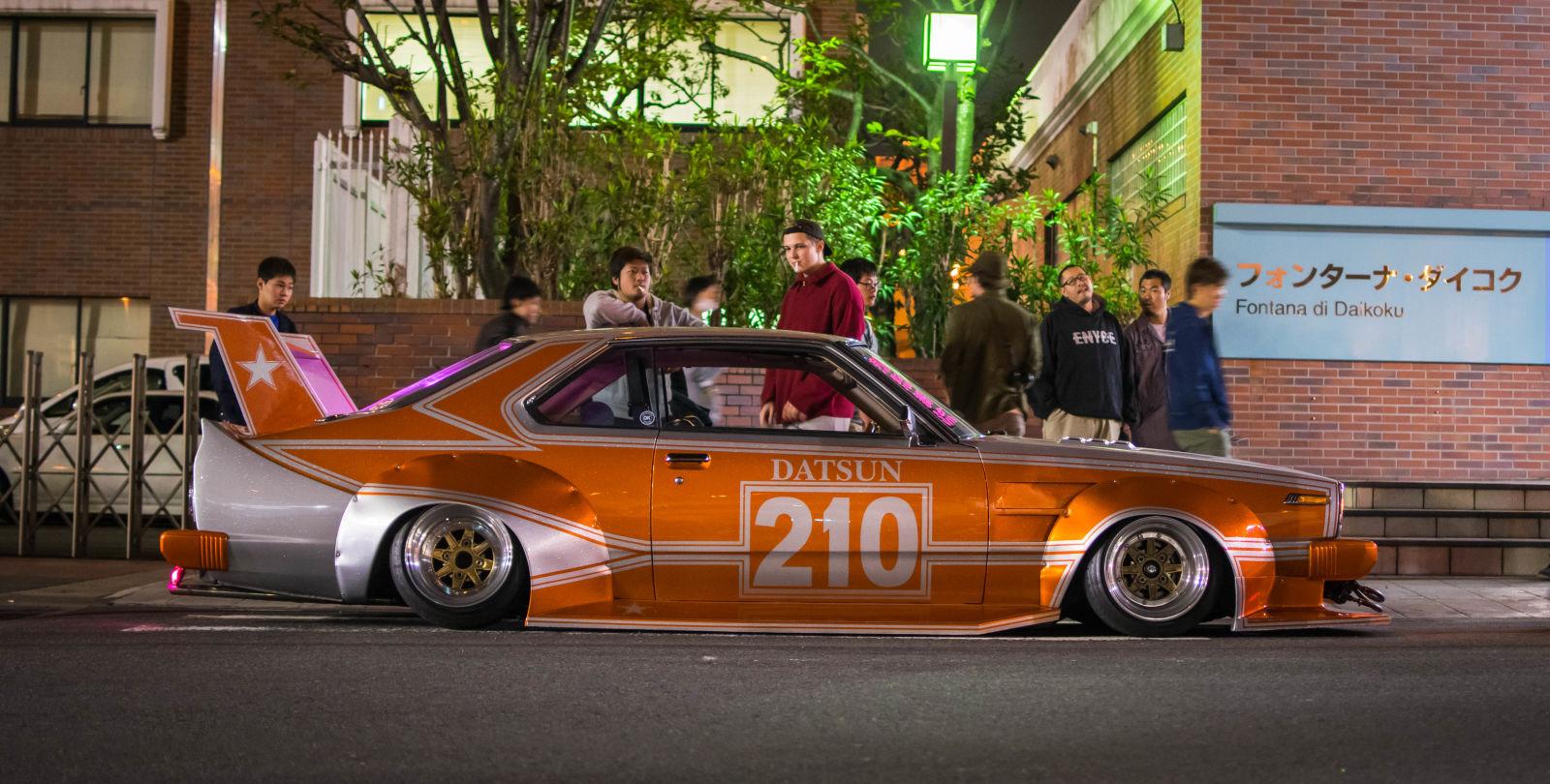 如改装车有天堂那一定是daikoku停车场的天堂图片