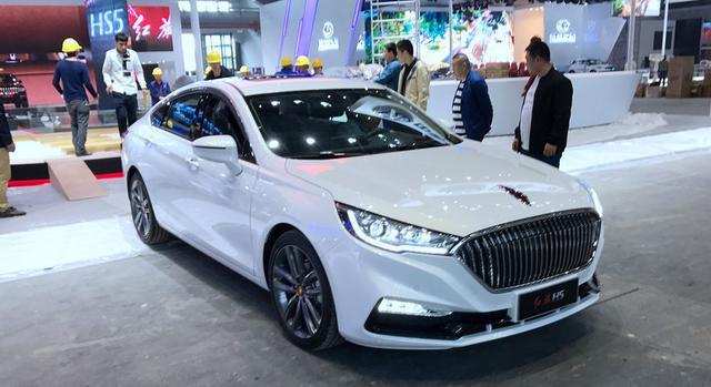 上海车展抢先看,史上最便宜的红旗汽车来了
