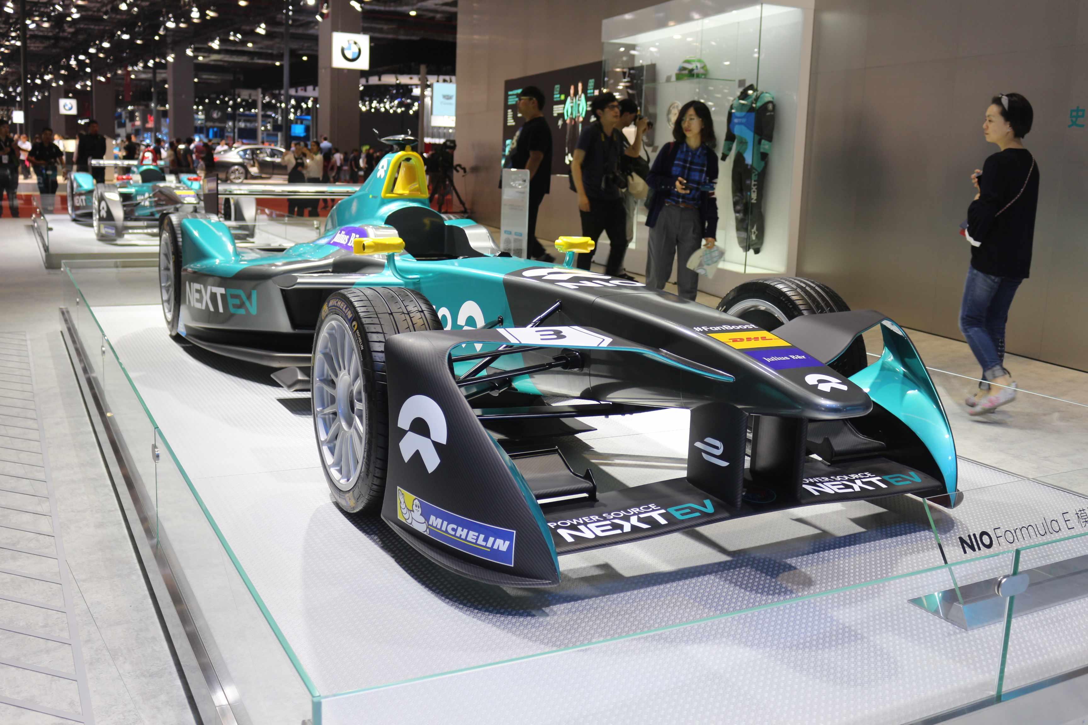 蔚来电动方程式赛车展示图片