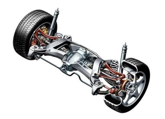 多连杆式悬架的结构更为复杂,它的制造成本与设计难度也要远高于前面