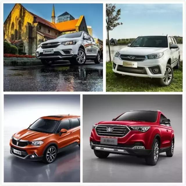 4款小型SUV对比,谁是6万级最强小型SUV!