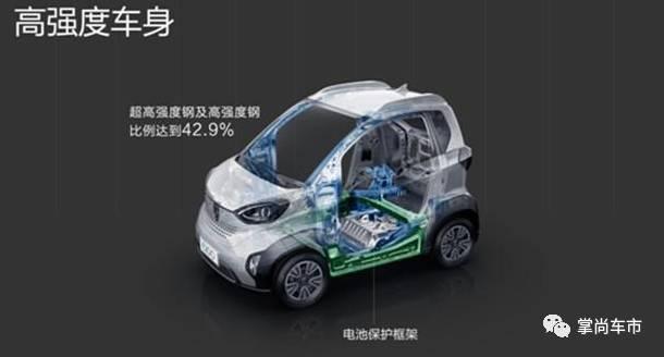宝骏E100上市,补贴后售价3.58万元起高清图片