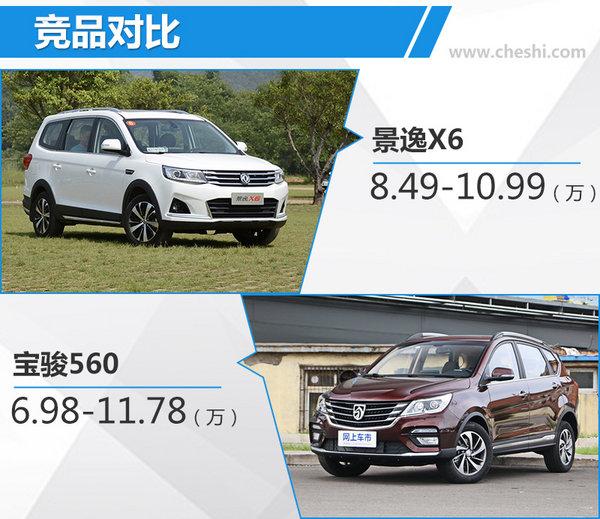 东风风行全新景逸X5 1.5T X6上市