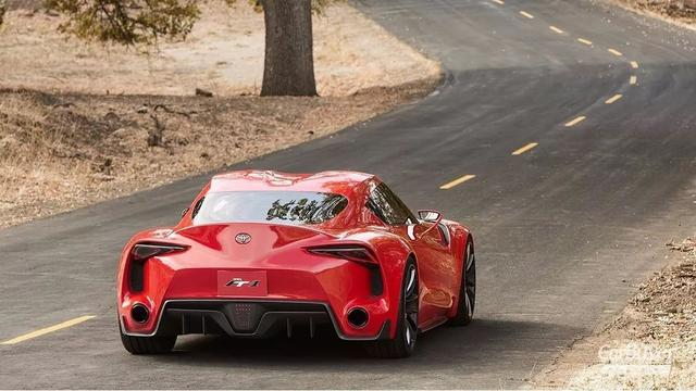 号称四大天王的丰田跑车回归了 而且还是跟宝马合作图片