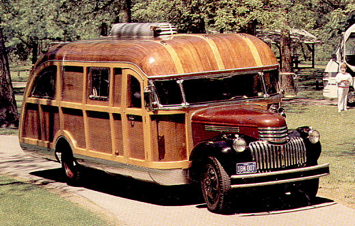 1946年雪佛兰房车,1989年9月motorhome杂志称其为令人着迷的图片