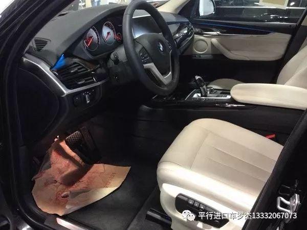平行进口2018款宝马x5最新促销最低报价清仓图片