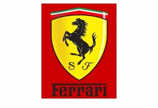 法拉利车的标志是一匹跃起的马.
