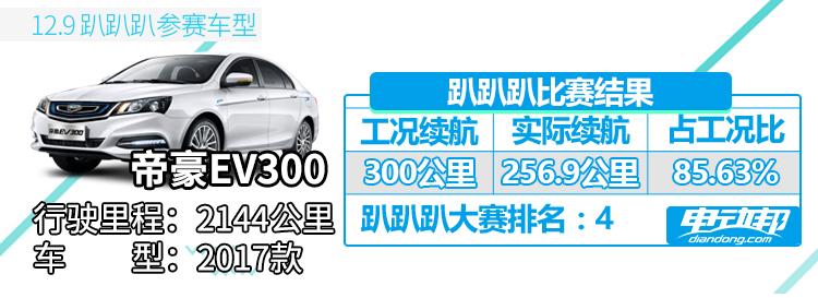 趴趴趴车型-帝豪EV300