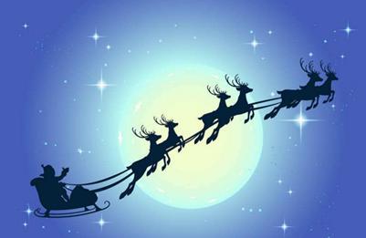 """圣诞老人,考虑下换个东方的""""座驾""""?"""