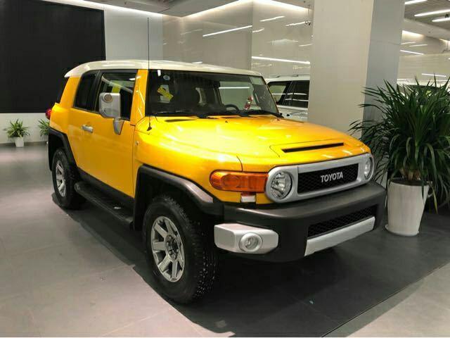丰田FJ酷路泽优惠报价 时尚越野经典造型霸气来袭