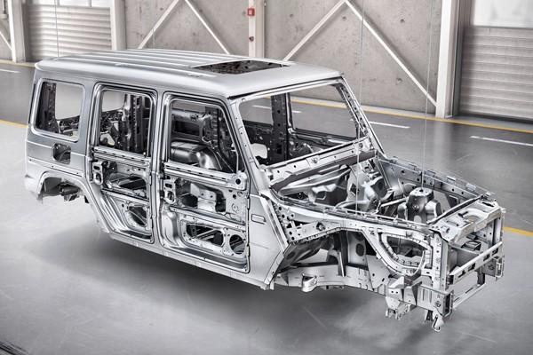易车号 > 正文       底盘结构上,新一代奔驰g级在车身架构的设计和