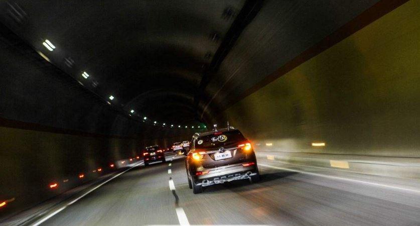 隧道口缓冲结构