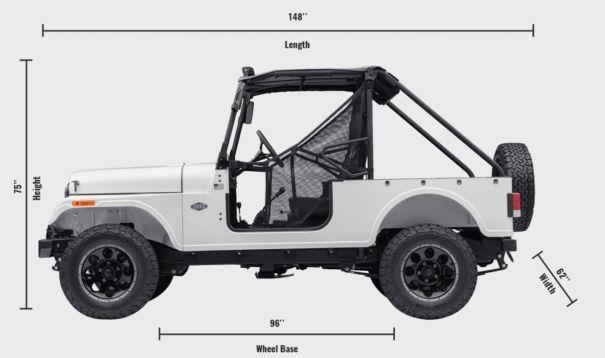底特律生产的mini吉普,印度Mahindra Roxor