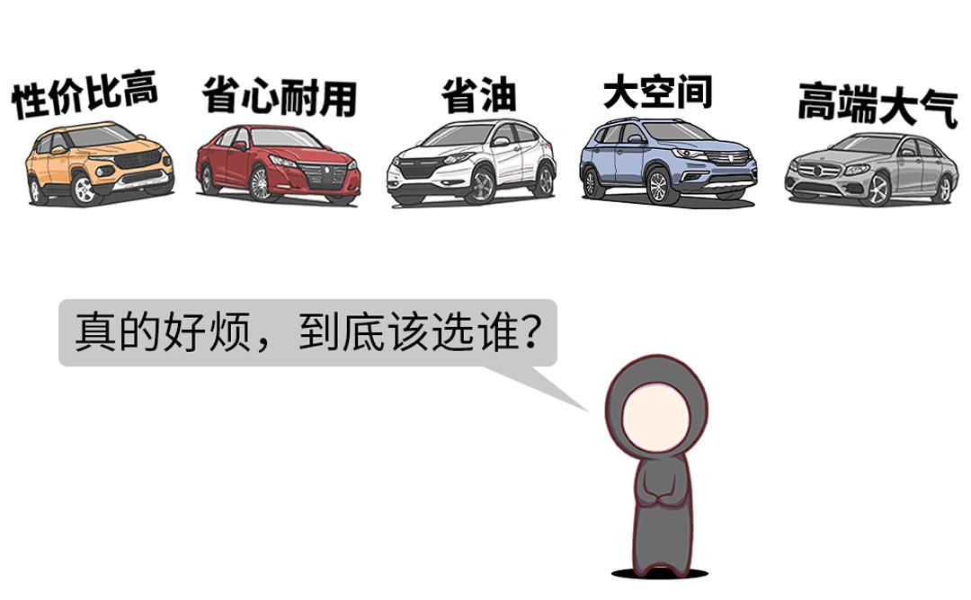 你有30万 我就敢给你推荐不同类型的12款车!