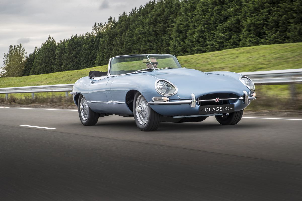 Genial Jaguaru0027s E Type Zero Is The Most Beautiful Electric Car Yet   The Verge