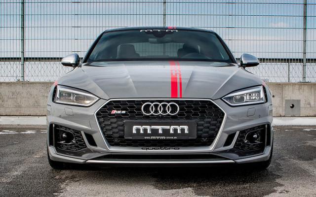 MTM特制572HP马力上限Audi RS 5
