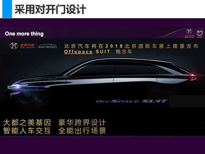 北京汽车新SUV等7款车型将首发 销量目标增85-图7