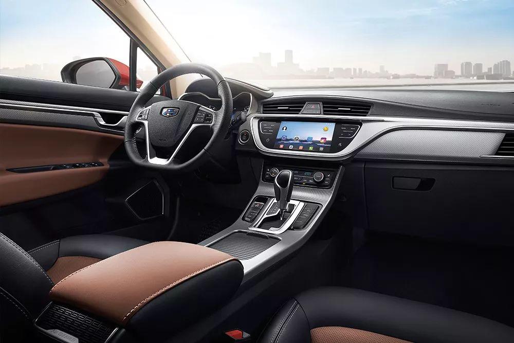 7.78万起2018款帝豪GS上市 增领潮版车型