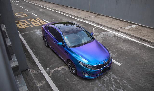 k5改装-汽车不同角度的拍摄