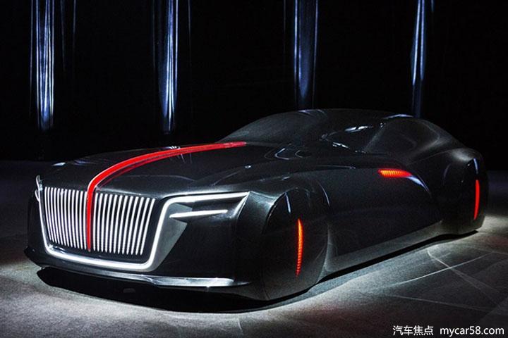 红旗全新概念车预告图!将亮相北京车展图片